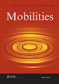 Mobilities Journal Cover - Taylor & Francis